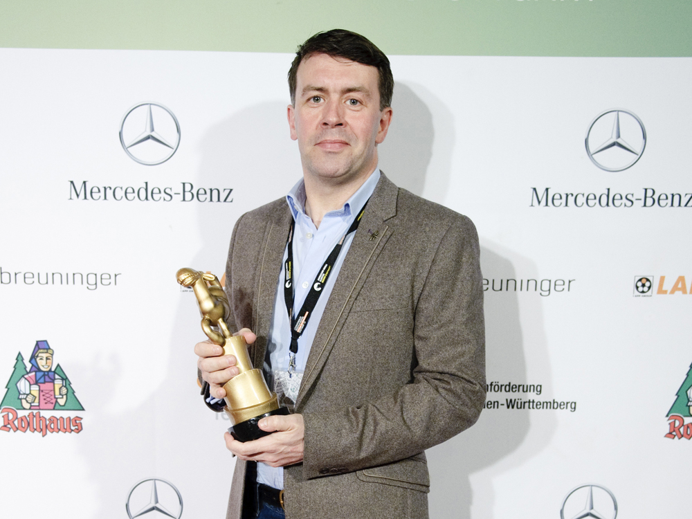 Len Stuttgart roy wins tricks for stuttgart award jam media